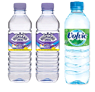 HIGHLAND SPRING  VOVIC WATERS