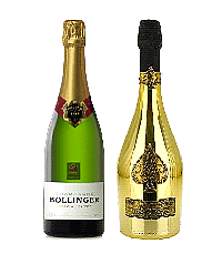bollinger champagne, ace of spades champagne